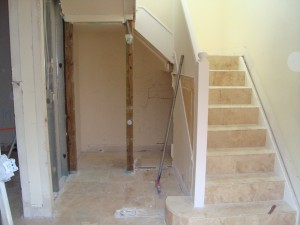 Before: Wood Stairs