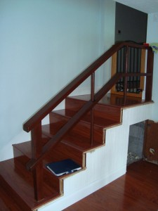 HGTV Custom Stairs Before Remodeling